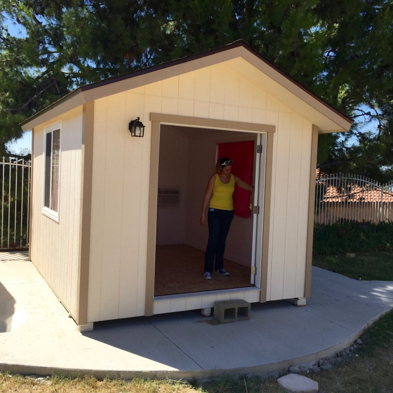 home office space, backyard retreat, inland empire